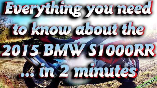 Everything you need to know about the 2015 BMW S1000RR
