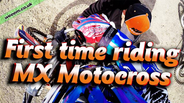 First time riding Motocross – KTM MX Experience