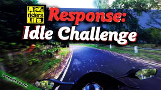 Response Video: Idle/Tickover Challenge