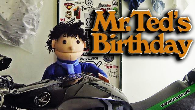 MrTed's Birthday message from WeeWeem