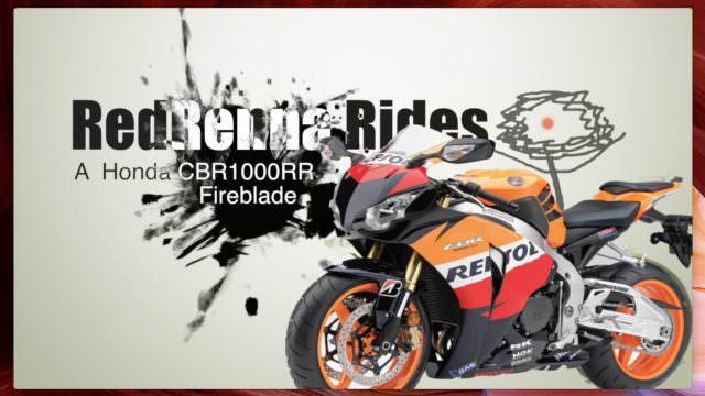 RedRenna: RedRennaRides a Honda Fireblade CBR1000rr (2010 model) Ft. WeeemRCB