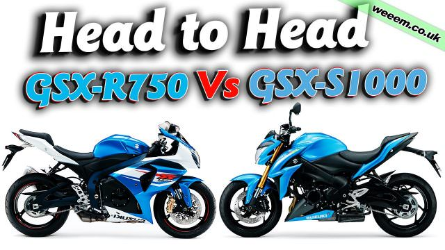 Head to Head: GSX-R750 Vs GSX-S1000