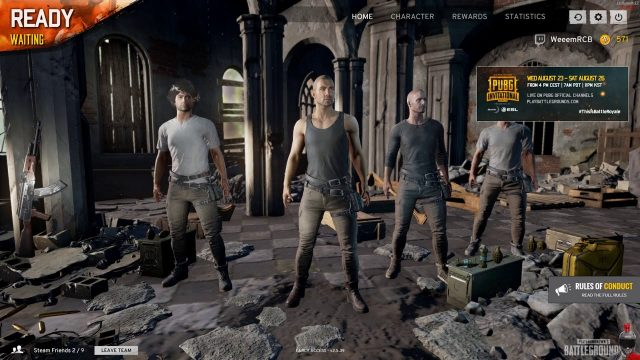 In the PUBG with OfficialSmo : #WeemStream [ENG][PC]