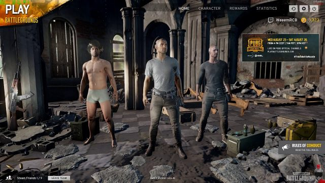 Saturday Night in the PUBG :  #WeemStream [ENG][PC]