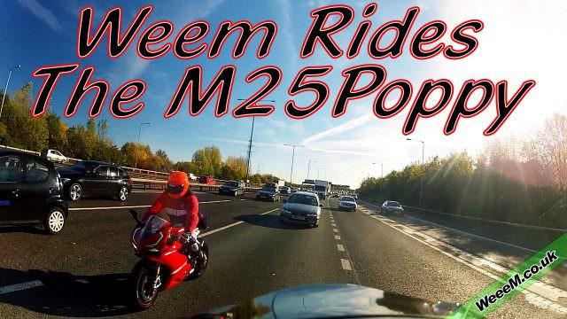 Weem rides the M25Poppy (2013)