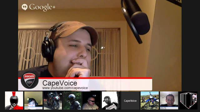 CapeVoice: Friday Night Vlogger Panel, Rick Roll, Google Inception
